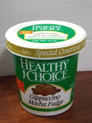 Vintage Healthy Choice Ice Cream Pint Plastic Container Bucket-extremely Rare • 12.87£