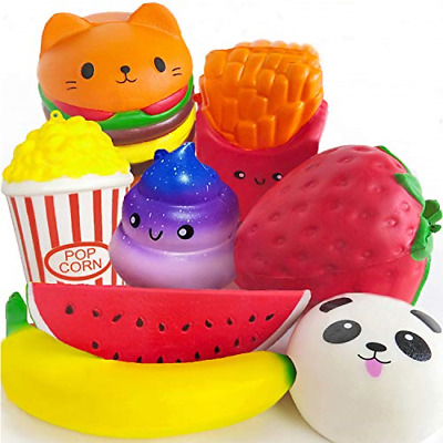 AU50.80 • Buy PARTYKA 8pcs Squishies Pack - Squishies For Girls And Boys Jumbo Squishys Pack