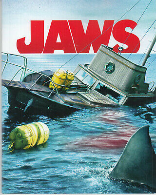 Jaws HMV CINE EDITION Reprinted Booklet Colour 48 Pages NEW FASTPOST • 3.99£
