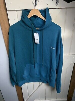 Brand New Iets Frans Blue/Teal Spliced Hoodie. Size Large. RRP £49 • 35£