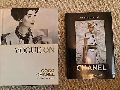£25 • Buy CHANEL Books Vogue On Coco Chanel & The Little Guide To Chanel