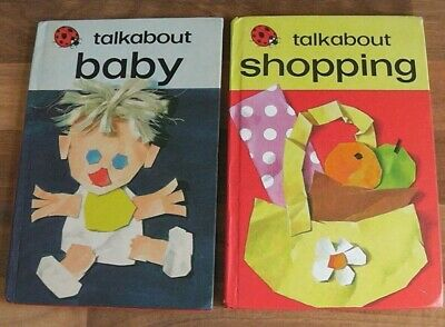 Ladybird Book,Talkabout Baby,Talkabout Shopping,Series 735 • 5.95£