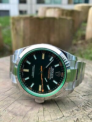 $ CDN14526.97 • Buy Rolex Milgauss 116400GV Box And Papers 2021 Unworn