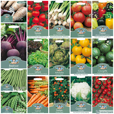 Herb Vegetable Seeds Tomato Seeds Pea Bean Seeds By Mr Fothergills • 3.60£