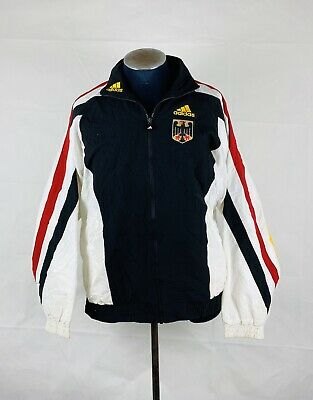 Adidas Germany 1999 Football Shell Top / Jacket, Vintage Retro Deutschland Rare • 34£