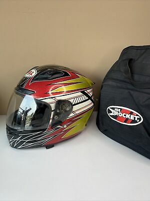 $99.99 • Buy Bell Star Snell M2005 Motorcycle Helmet Size Large With Case