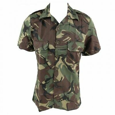 £9.99 • Buy Genuine Military Surplus South African Army DPM Woodland Camouflage Shirt