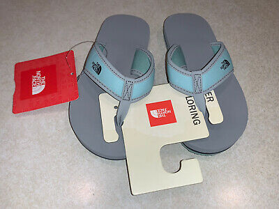 The North Face Youth Girls Base Camp Flip Flops Size 11 New With Tags • 20.74£