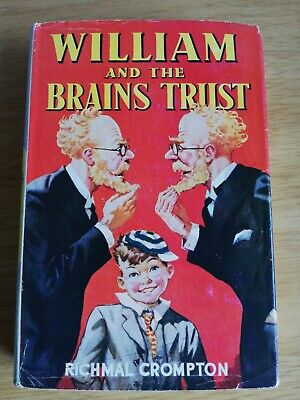 1952 William And The Brains Trust - Richmal Crompton. Hardback Rep. VG In VG D/w • 18£