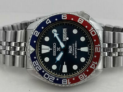 $ CDN287.50 • Buy Vintage Seiko Diver 6309-7290 Dark Blue Padi Face Mod Automatic Men Watch 705391