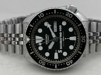 $ CDN81.14 • Buy Lovely Vintage Seiko Diver 6309-729a Scubapro Mod Automatic Mens Watch Sn 600449