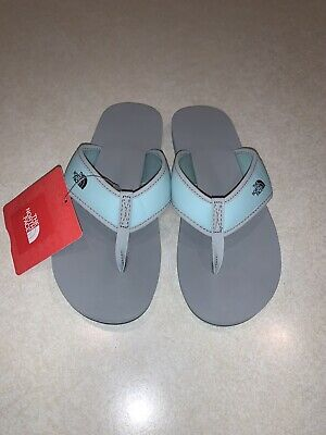 The North Face Youth Girls Base Camp Flip Flops Size 3 New With Tags • 20.74£