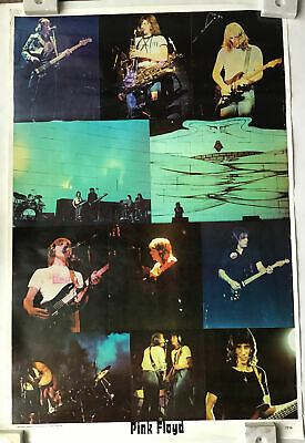 $21.97 • Buy Pink Floyd Vintage Wall Collage Concert Shots Poster