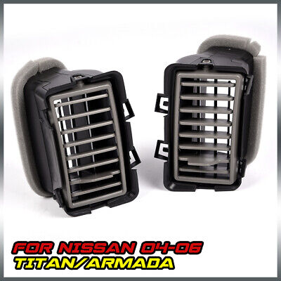 $29.55 • Buy Front Inner Right & Left Dash Air Vent Grille FOR 2004-2006 NISSAN TITAN ARMADA