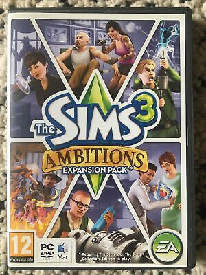 £7 • Buy The Sims 3: Ambitions (PC: Mac, 2010)