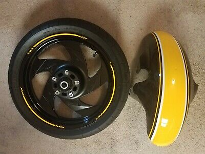 $700 • Buy Suzuki M109R Front Wheel And Tire, Fender And Triple Tree. In As New Condition,