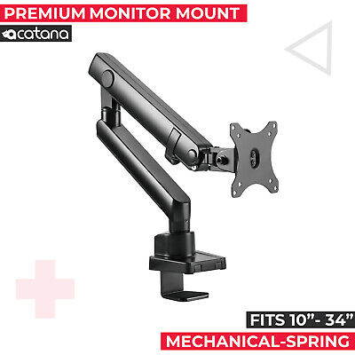 AU69.95 • Buy Acatana Single Monitor Stand Arm Mount Desk Screen Holder LCD LED HD Bracket 34