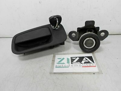 Set Key Handle Lock Tailgate Lancia Y 1.4 59kw 80cv 840A2000 1996 • 41.83£