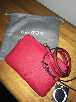 AU60 • Buy Oroton Bueno Double Clutch Cross Body Bag