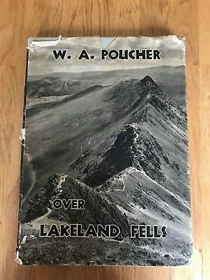 Over Lakeland Fells  Book (W. A. Poucher - 1948) (1EE11) • 8£
