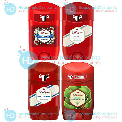 6 X Old Spice Antiperspirant Deodorant Roll On Stick Choose Item Fresh 50ml  • 16.99£