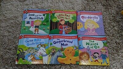 ** Ladybird First Favourite Tales Children's Books X 6 :: £30 RRP ** • 18.50£