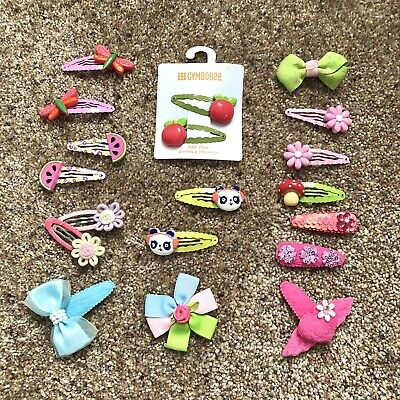 AU33.58 • Buy Lot Of 19 GYMBOREE Hair Accessories Curly Loops Clips New & Vintage