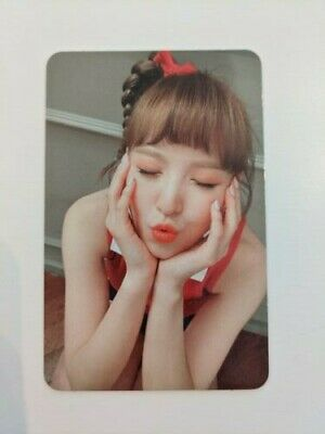 Red Velvet Wendy Russian Roulette Photocard • 2.20£