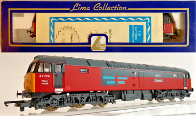 $96.10 • Buy Lima 00 Gauge - L204739 - Class 47 Diesel 47726 Res Progress Manchester Airport