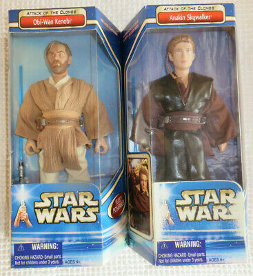 $ CDN100.52 • Buy 12' 1:6 Custom Lot 2 Star Wars Obi-Wan Kenobi W Hot Toys Head & Anakin Skywalker