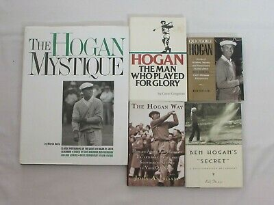 £47.08 • Buy Lot Of 5 Ben Hogan Golf Books – The Man Who Played For Glory, The Hogan Way