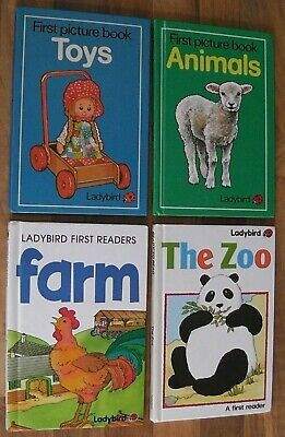 Ladybird Book,Early Learning,The Farm,The Zoo,Animals,Toys • 5.99£