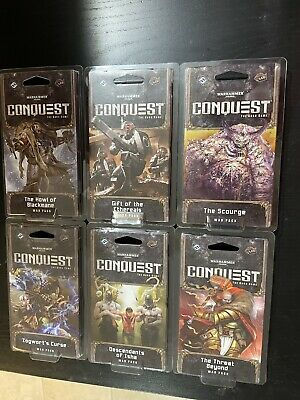 AU83.67 • Buy Warhammer 40K - Conquests Warlord Cycle Cases (72 Packs Each Case)