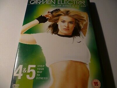 Carmen Electra`s The Lap Dance & Hip-Hop DVD 4 & 5 Strip Your Way To Fitness • 2.39£