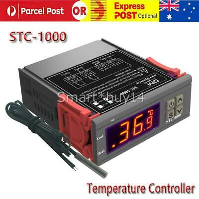 AU17.95 • Buy Digital Temperature Thermostat STC-1000 Controller 10A 220V Heating Cooling LCD