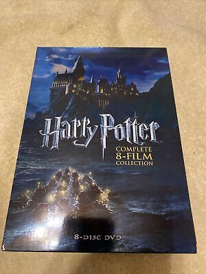 $ CDN19.03 • Buy Harry Potter: Complete 8-Film Collection (DVD, 2011, 8-Disc Set)