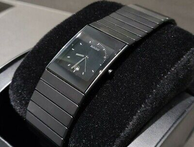 Beautiful Rado Large Ceramica Watch Matte Black With Black Dial Cost New In Box • 595£