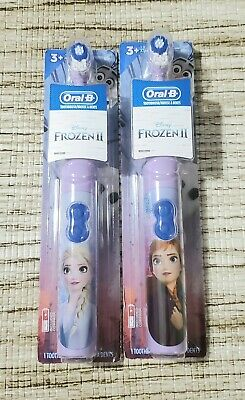 AU25.76 • Buy Oral-B Kids Battery Powered Electric Toothbrush Disney's Frozen II NEW! Lot Of 2