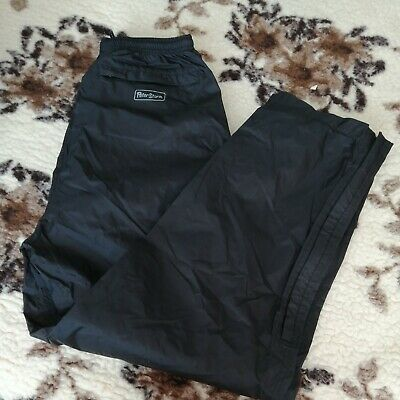 PETER STORM Black WATERPROOF TROUSERS SIZE S 30  Elasticated Waist BNWOT • 8.50£