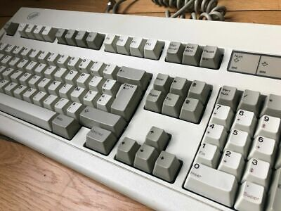 RARE_Clavier IBM MODEL M Clicky Vintage Keyboard AZERTY FR Layout - IBM PS/2 AT • 240.42£