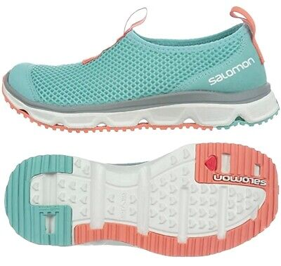 £35.86 • Buy Salomon Rx Moc W Ladies Slip On Outdoor Shoes Hiking Sandals Slippers Turquoise