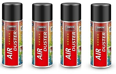 4 X 200ml Limited Edition Scented Compressed Air Duster Gas Spray / Cleaner, • 9.99£