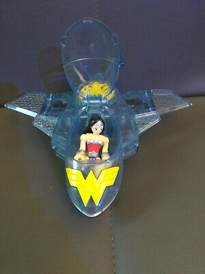 Imaginext Wonder Woman INVISIBLE Jet  Used With Figure • 11.50£