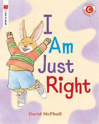 I Am Just Right By David McPhail (English) Paperback Book Free Shipping! • 8.65£