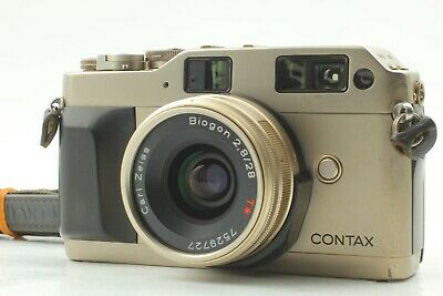 $ CDN708.83 • Buy  EXC+5 W/ Strap  Contax G1 Green Label + Carl Zeiss 28mm F/2.8 T* From Japan 234
