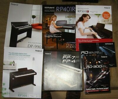 AU5.08 • Buy Roland Digital Pianos Catalogs, Sheets & Brochures Lot
