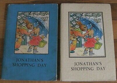 Ladybird Book,Jonathan's Shopping Day,2'6d,Dust Jacket,Series 401,1952 Edition • 220£