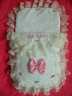 £15.99 • Buy Dolls Cosytoes, Footmuff Personalised With   My Baby