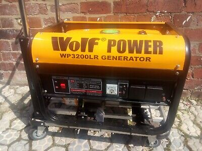 £315 • Buy Mobile Generator - Unused Wolf WP3200LR * Excellent Condition