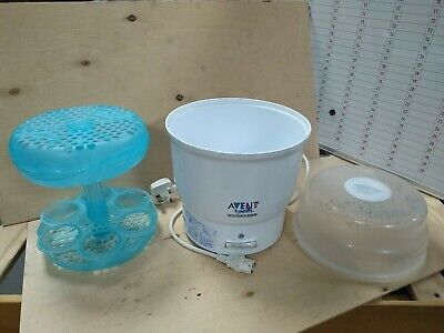 AU13.73 • Buy Philips Avent Naturally Express 6 Bottle Electric Steam Steriliser Need De-scale
